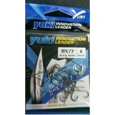 Yuki BX75 Carbon Hooks (Black Nickel)